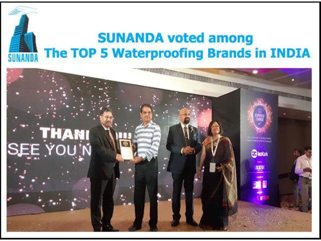 Top 5 waterproofing brands in INDIA | Sunanda Global