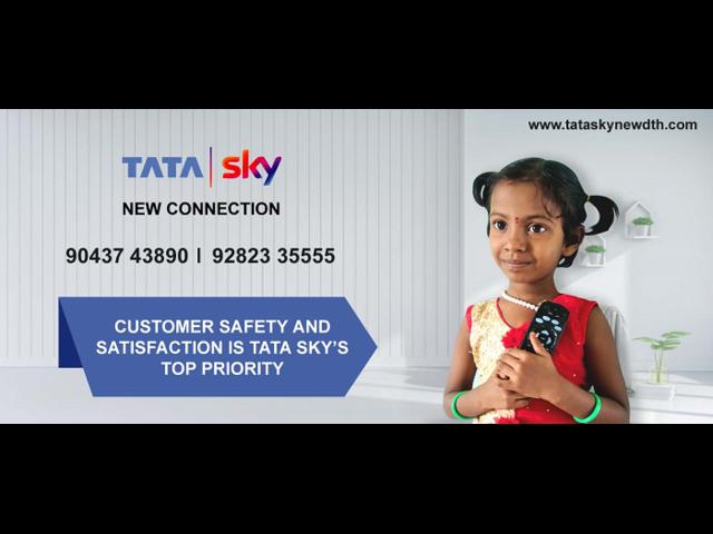 Tata Sky HD Dish @ 9043743890