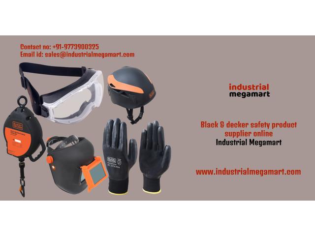 Black and decker safety services Noida - 9773900325 Industrial Megamart